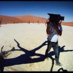 On location Namibia 0066